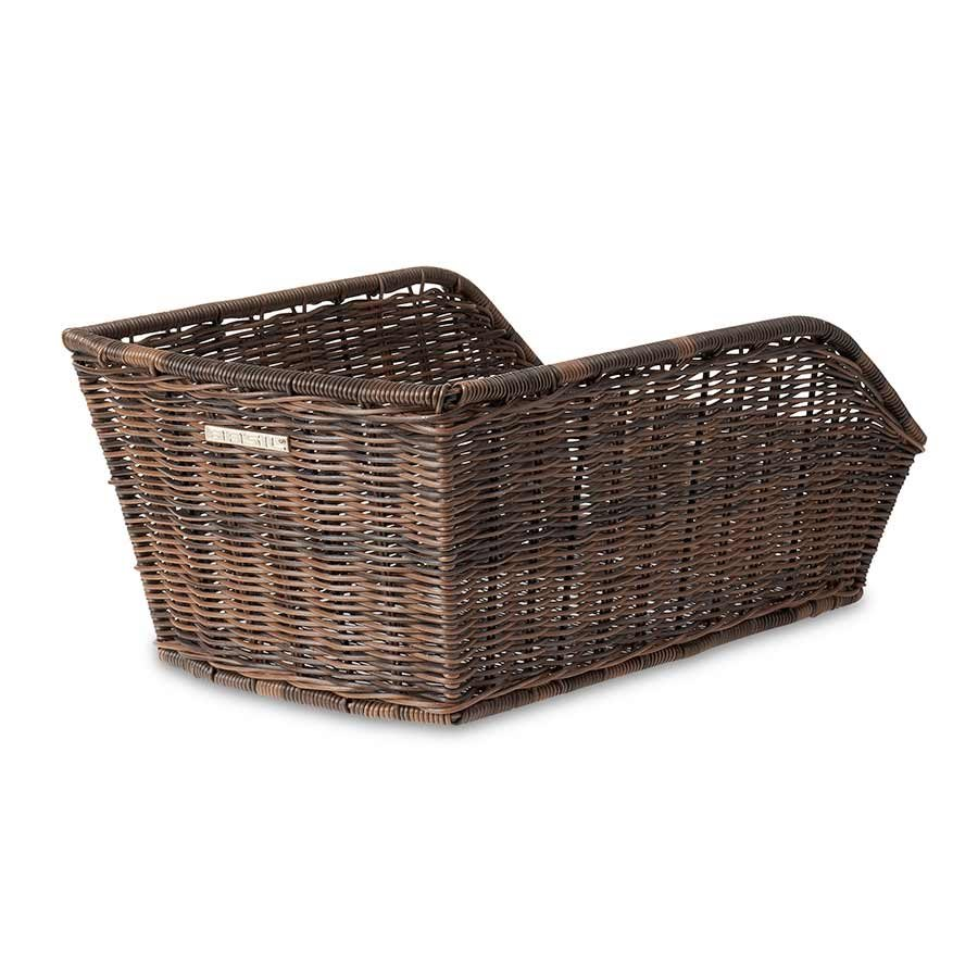 Basil, Cento Rattan Look, Rear basket, Nature Brown