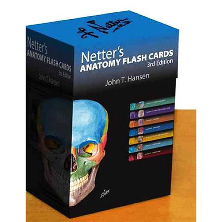 Netters Anatomy Flash Cards With Online Student Consult Access By