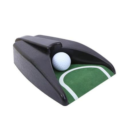 8 Classic Putter (Elegantoss Executive Indoor Golf Putter Cup with Auto Ball Return Function for Indoor Outdoor Office Home Golf Practice)