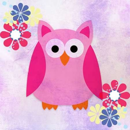 Retro Owl 1 Poster Print by Kimberly Allen](Thirty One Owl Print)