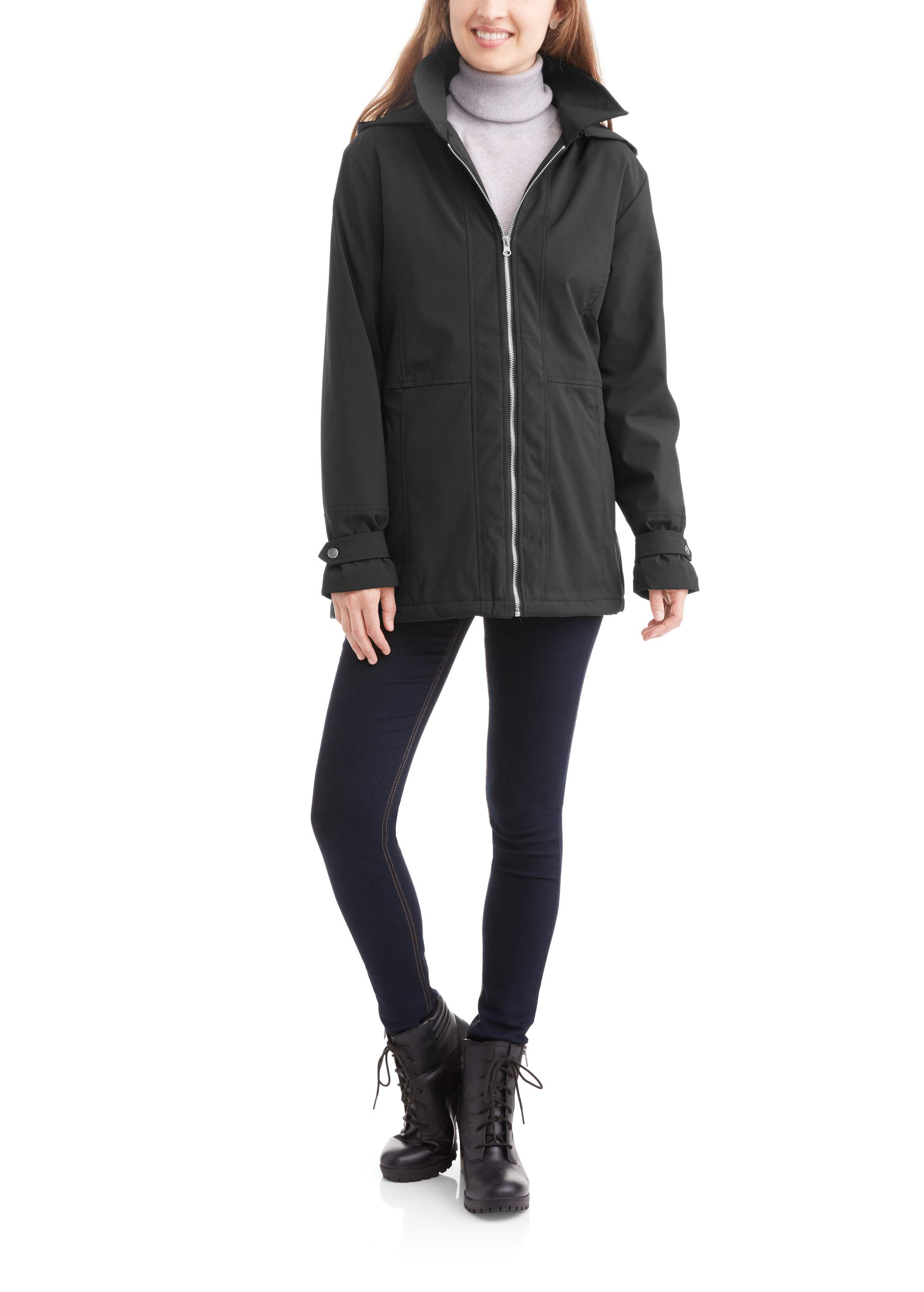 Women's Bonded Soft-Shell Rain Jacket