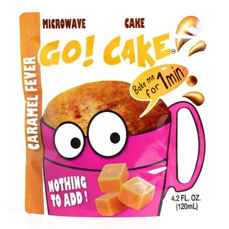 Go! Cake Caramel Fever Mug Cake 4.2 oz each (2 Items Per Order, not per (Best Ever Caramel Cake)