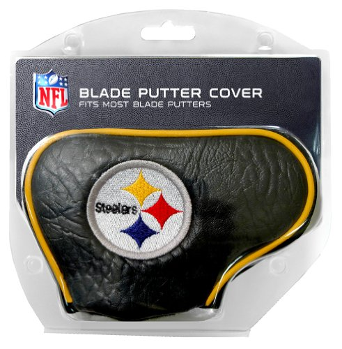 Team Golf NFL Pittsburgh Steelers Golf Blade Putter Cover by Generic