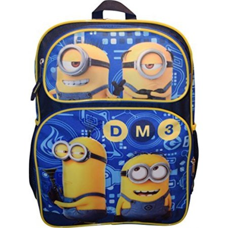 Despicable Me Boys' Universal Pictures Blue 16 Inch Backpack ()