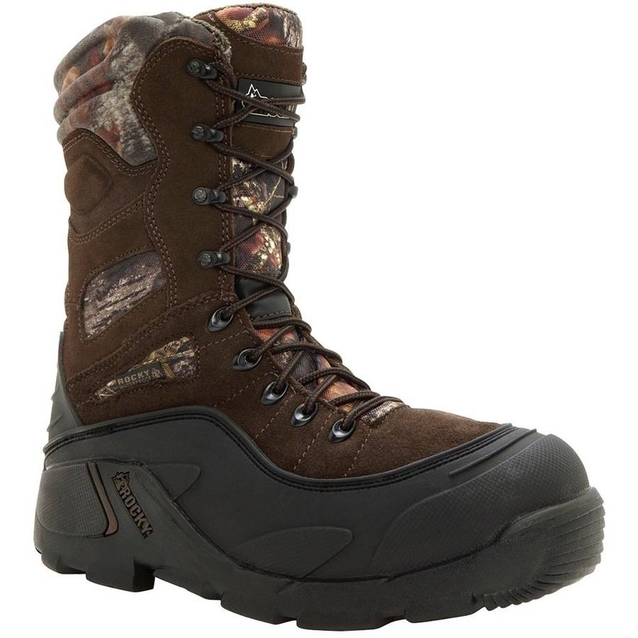 Rocky Blizzard Stalker Boot, 1200g, Mossy Oak, BreakUp by Rocky