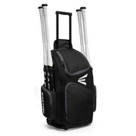 Easton Baseball Tote (Easton Traveler Baseball Stand Up Wheeled Equipment Bag Color Choice A159901)