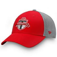 Toronto FC Fanatics Branded Versalux Speed Flex Hat - Red/Gray