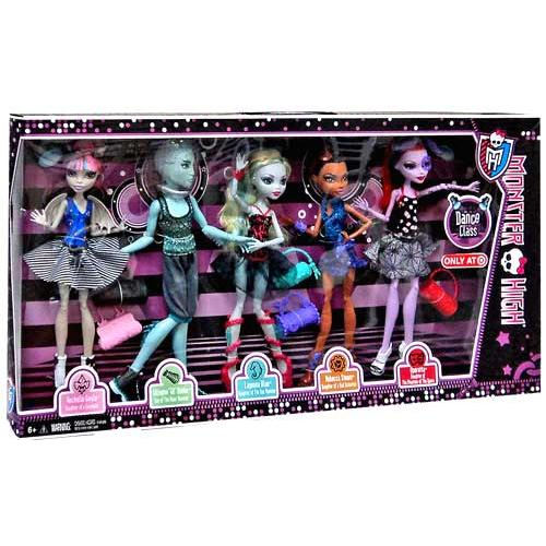 Monster High Dance Class Doll 5-Pack by Generic
