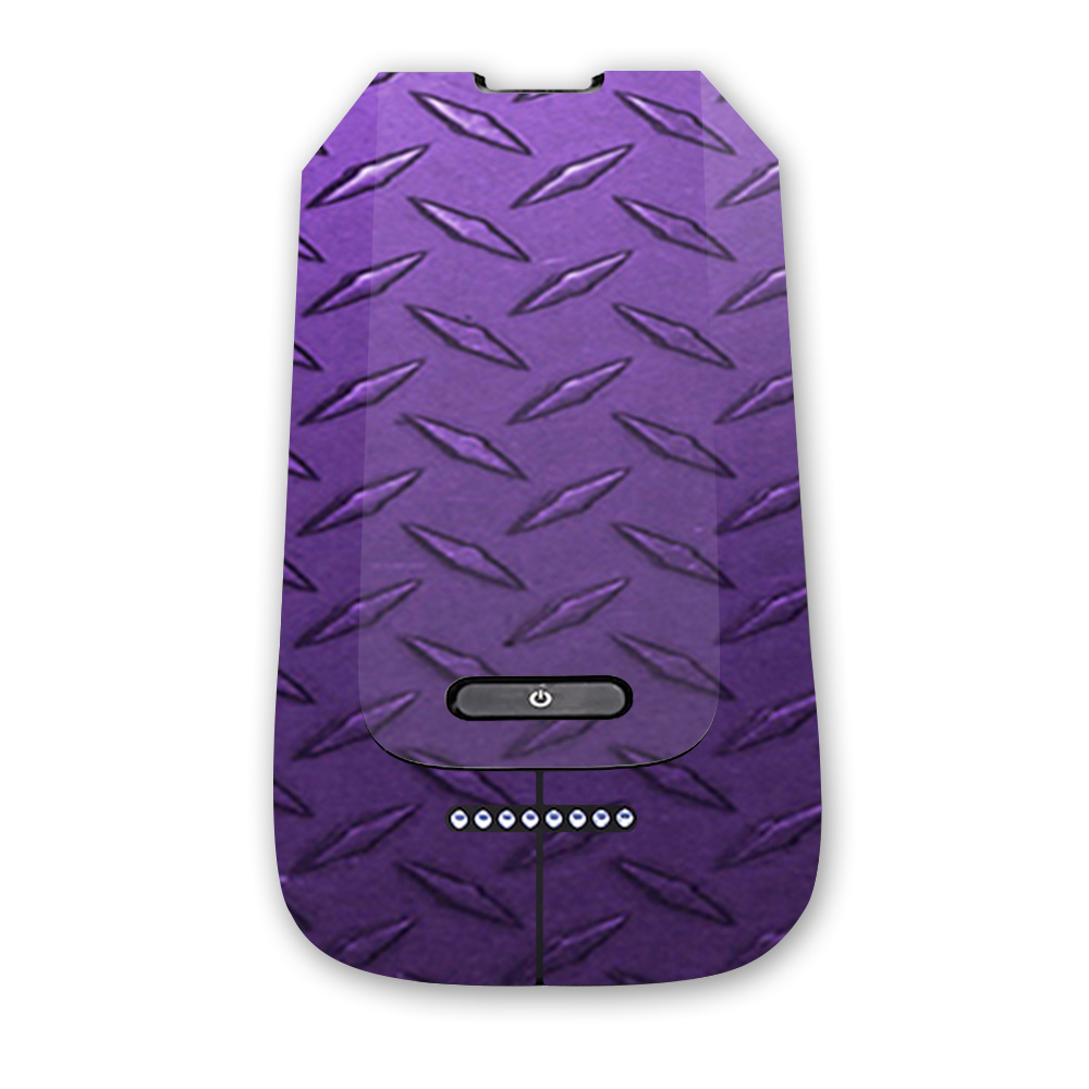 MightySkins Protective Vinyl Skin Decal for 3DR Solo Battery wrap cover sticker skins Black Diamond Plate