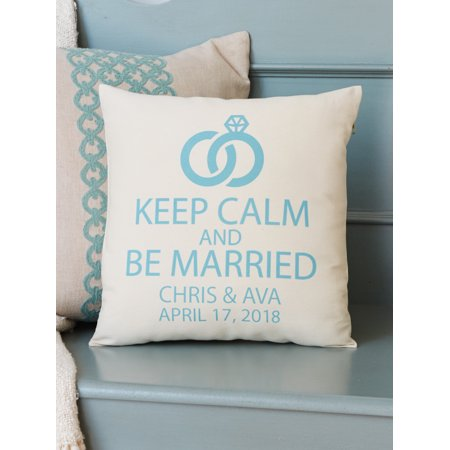 Personalized Keep Calm and Be Married (Married Gift)