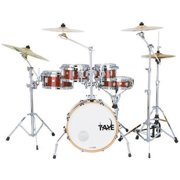 Taye GK518F-AH 5 Piece Gokit Hardware Drum Pack, Antique Honey