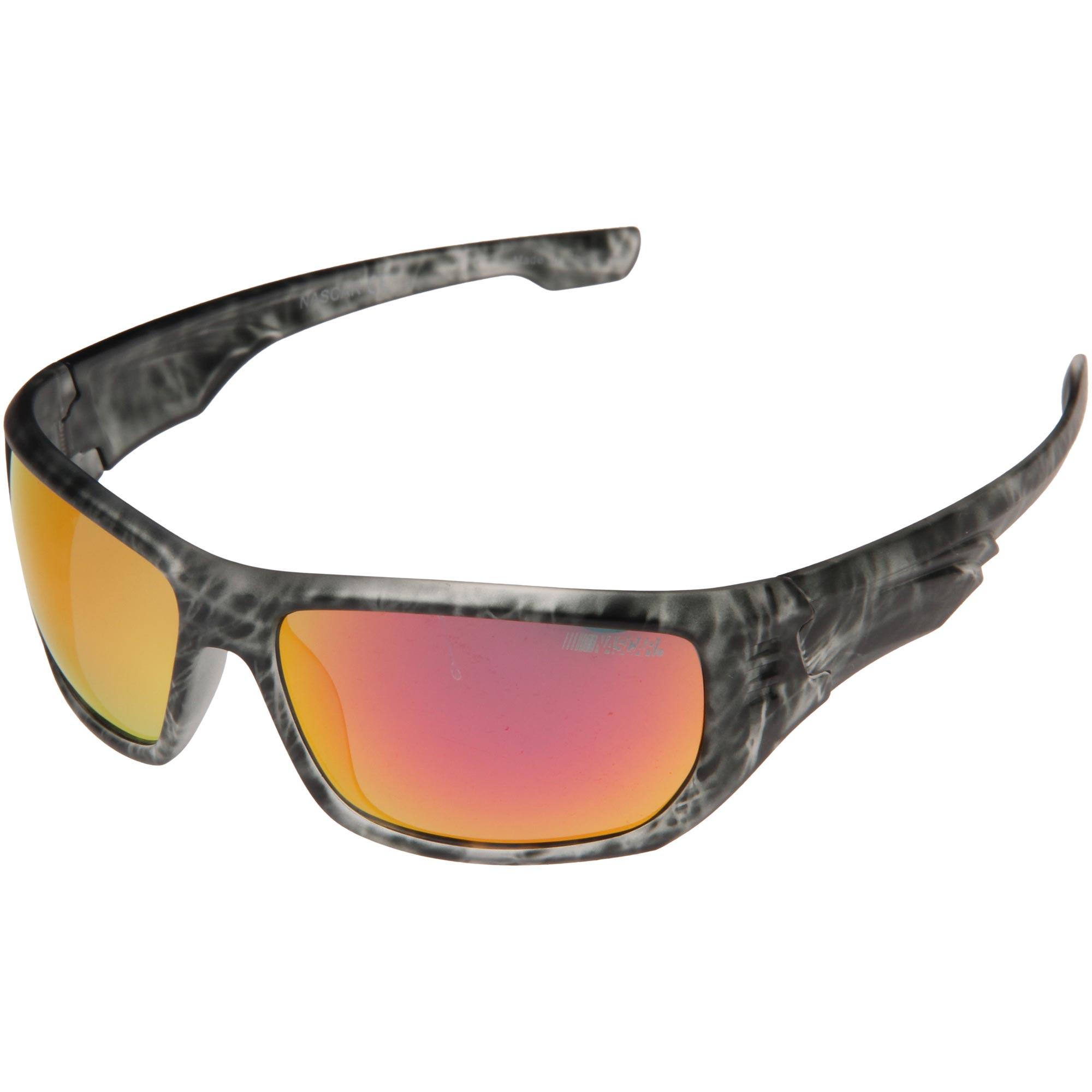 NASCAR Logo Slipstream Sunglasses - Gray - No Size