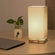 HAITRAL Japanese Style Table Lamp Reading Lamp for Bed Room, Night Light(HT-B007)