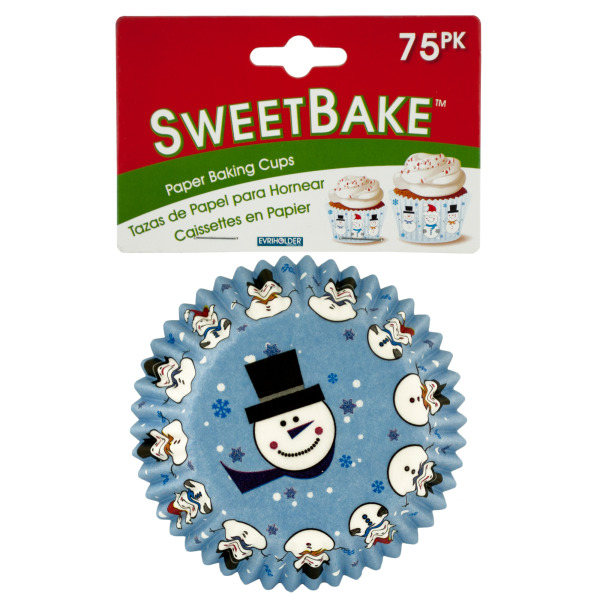 Sweetbake Holiday Paper Baking Cups (Pack Of 24)