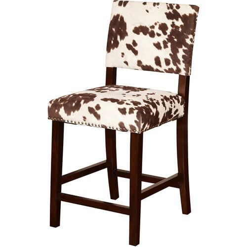 Linon Corey Counter Stool Udder Madness 24 Inch Seat