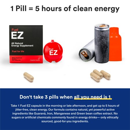 Fuel EZ: Natural Energy Supplement Canada - image 6 of 12