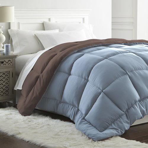Ebern Designs Hallock All Seasons Down Alternative Reversible Comforter