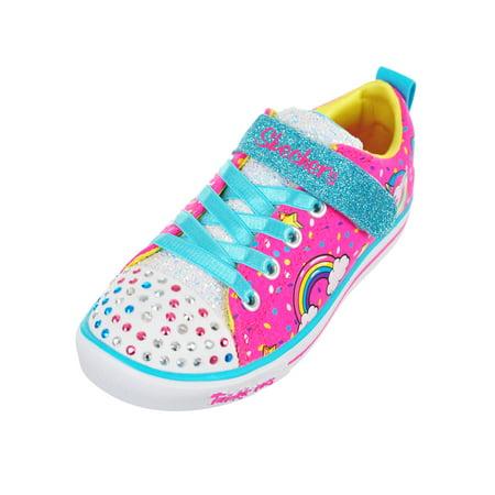 Skechers Girls' Light Up Sneakers (Sizes 11 3)