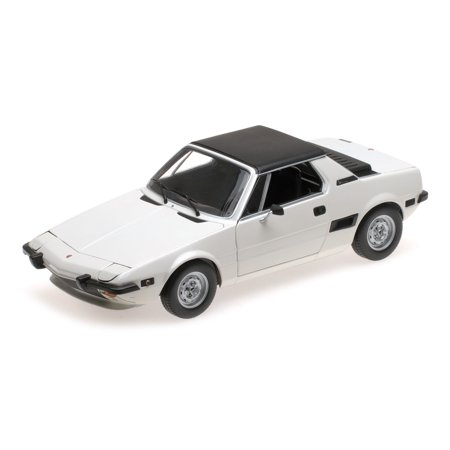 1974 Fiat X1/9 White Limited Edition to 504 pieces Worldwide 1/18 Diecast Model Car by Minichamps ()