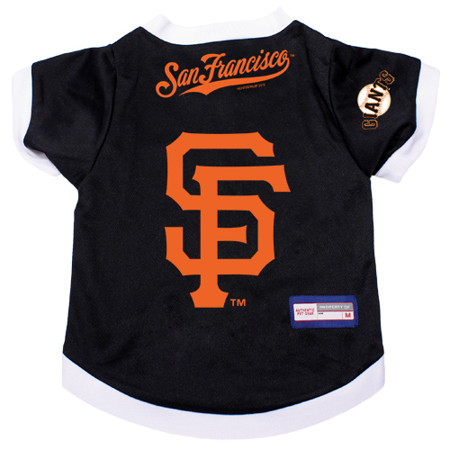 San Francisco Giants Dog Pet Premium Alternate Jersey LARGE