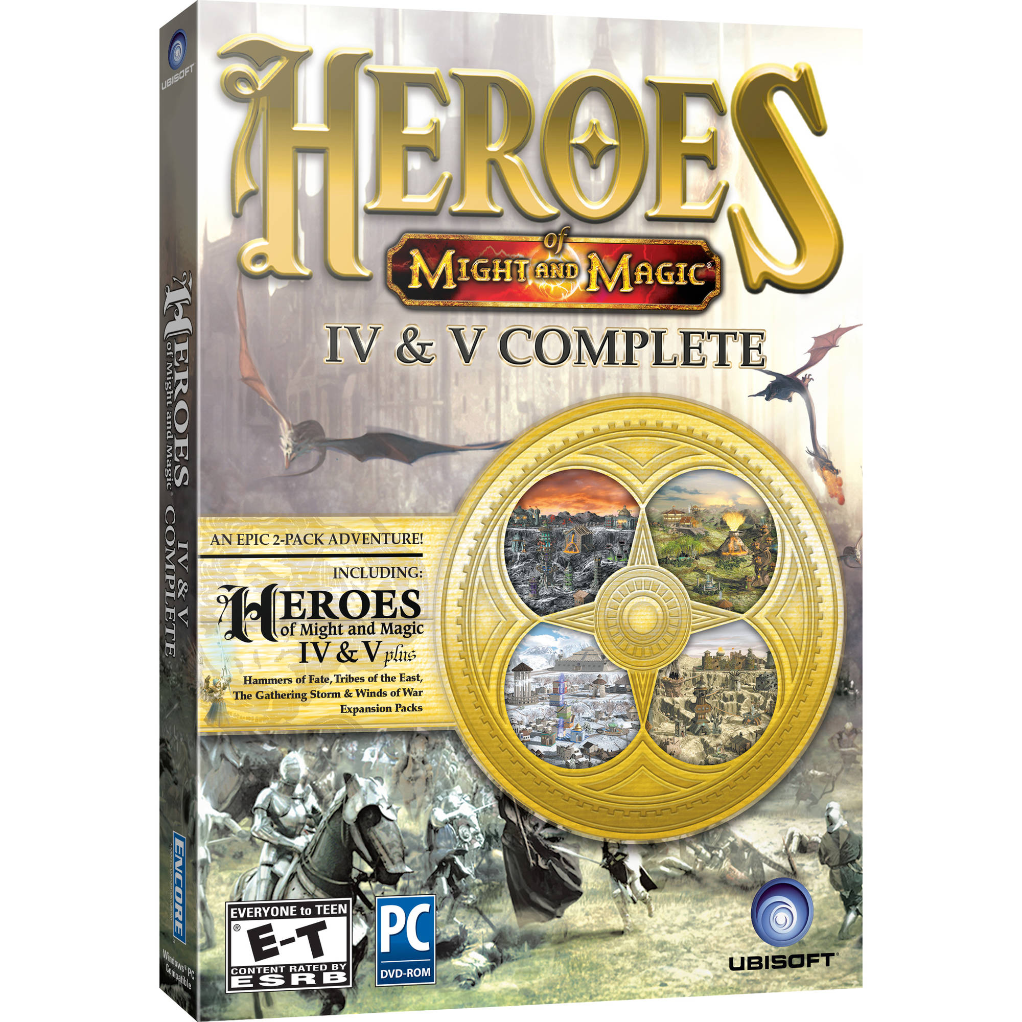 Heroes of Might and Magic 4 and 5 (PC)