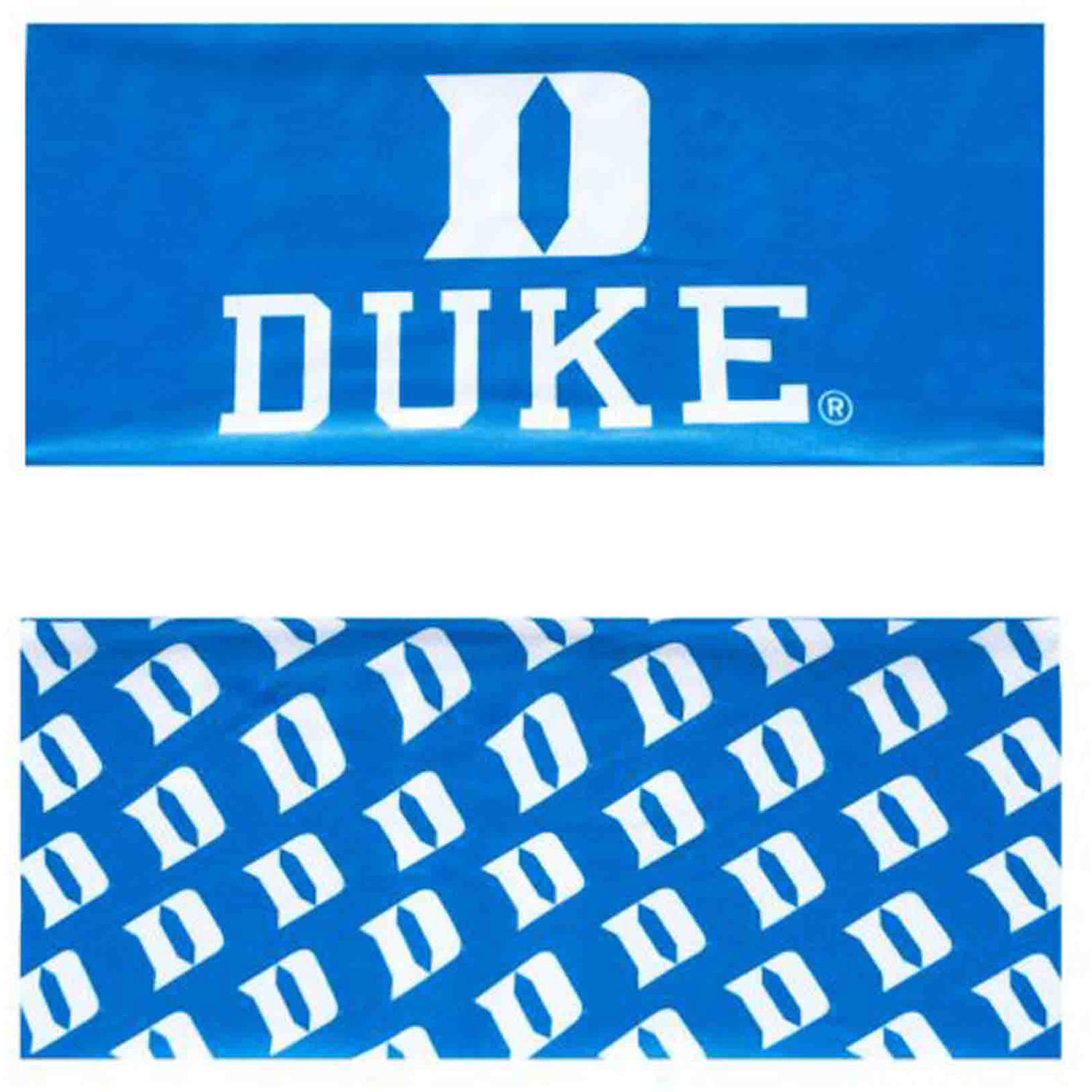 Duke University Reversible Team Color Headband, Wide