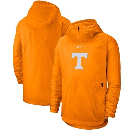 Tennessee Volunteers Nike Player Repel Quarter-Zip Hooded Jacket - Tennessee Orange