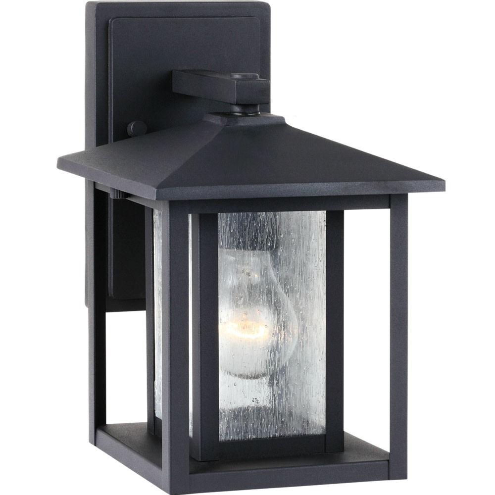 Sea Gull Lighting 88025 Hunnington 1 Light Outdoor Lantern Wall Sconce