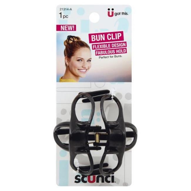 Conair 7265859 Scunci Bun Clip - Pack of 3