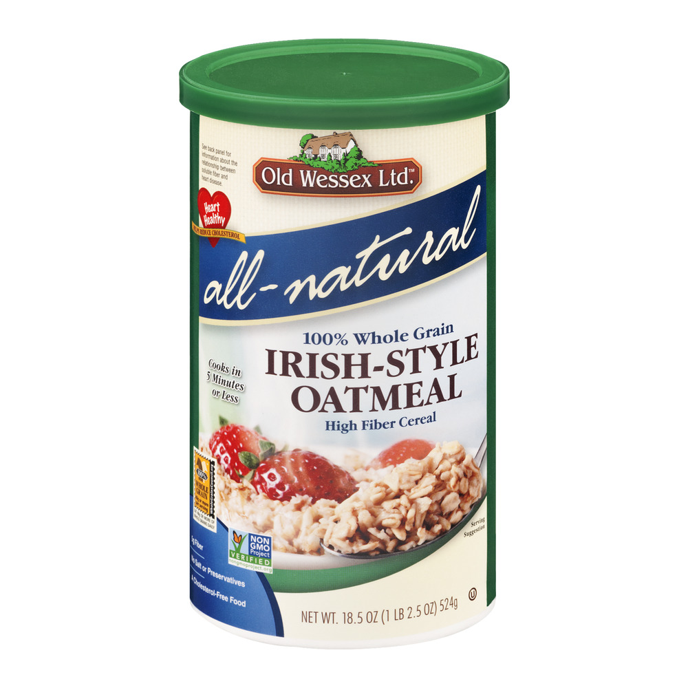 Old Wessex Ltd. All-Natural Irish-Style Oatmeal, 18.5 OZ