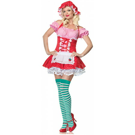 Country Girl Adult Costume - X-Small