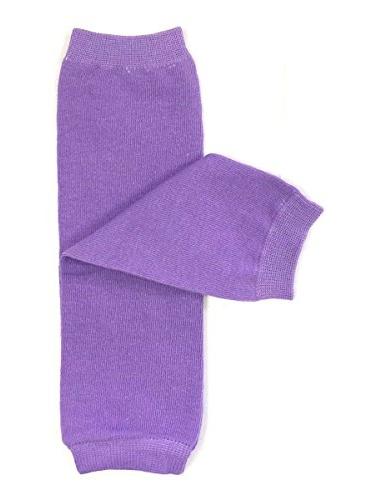 ALLYDREW Solid Baby Leg Warmer & Solid Toddler Leg Warmer for Boys & Girls (Solid Purple)
