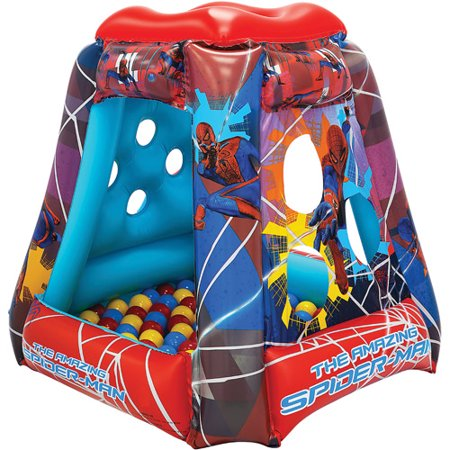 The Amazing Spider Man 4 Web Slinger Inflatable Ball Pit