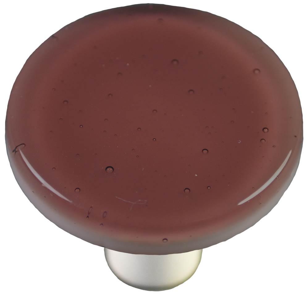Round Knob in Light Plum (Aluminum)