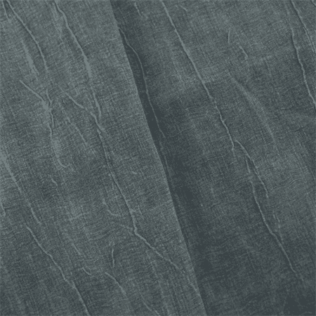 Denim Washed Crushed Double Weave Decorating Fabric, Fabric By the (Double Weave Mesh)