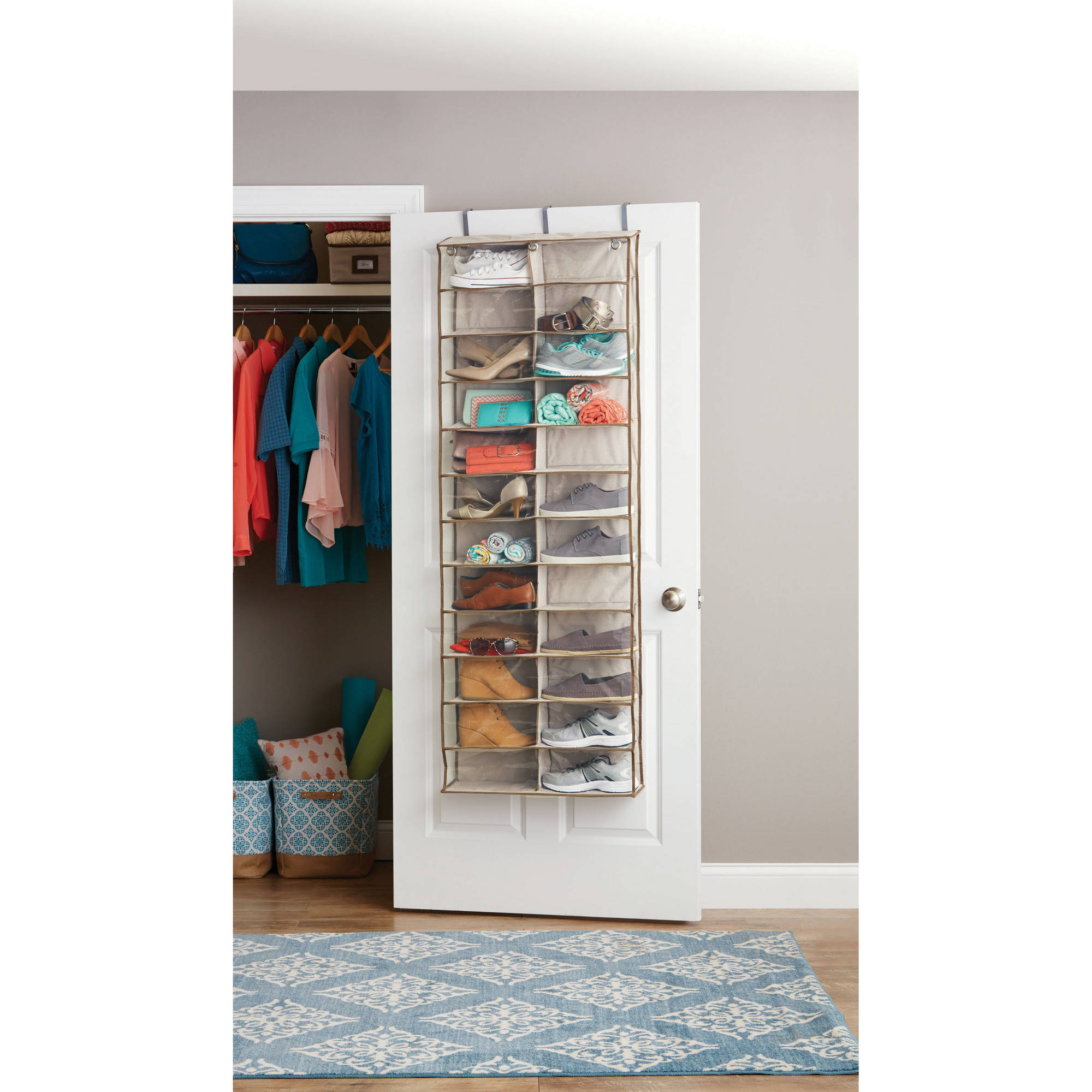 door organizers over the door pantry organizers sc 1 st ebay. Black Bedroom Furniture Sets. Home Design Ideas