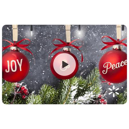 Holiday Lights Walmart eGift Card