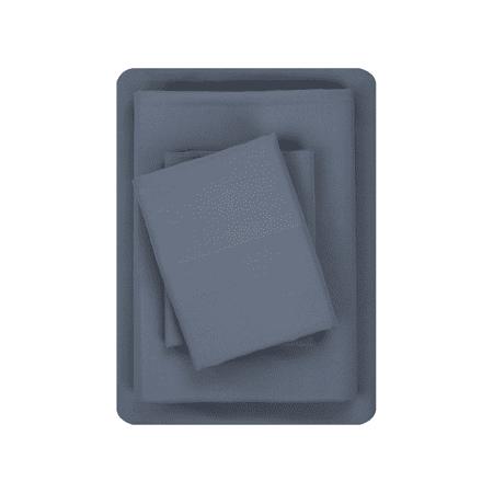 Mainstays Sheet Set (Twin/Twin XL Gray) + 2 Free Standard Pillowcases