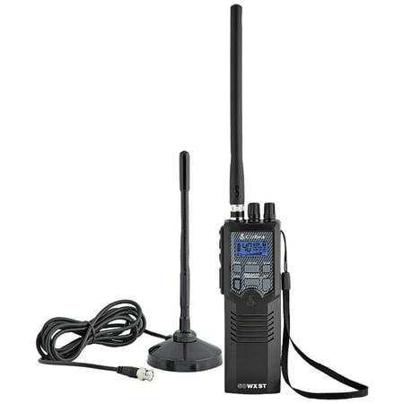Handheld Radio Pouch - Cobra HHRT50 Road Trip Handheld CB Radio with Mobile Antenna