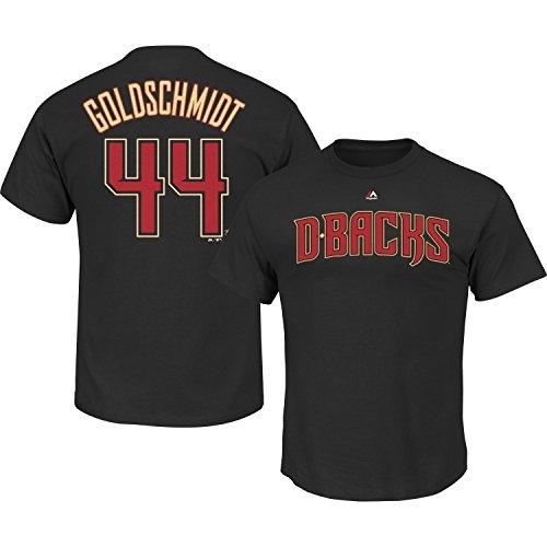 Paul Goldschmidt Arizona Diamondbacks #44 MLB Men's Big and Tall Player T-shirt (XLT)