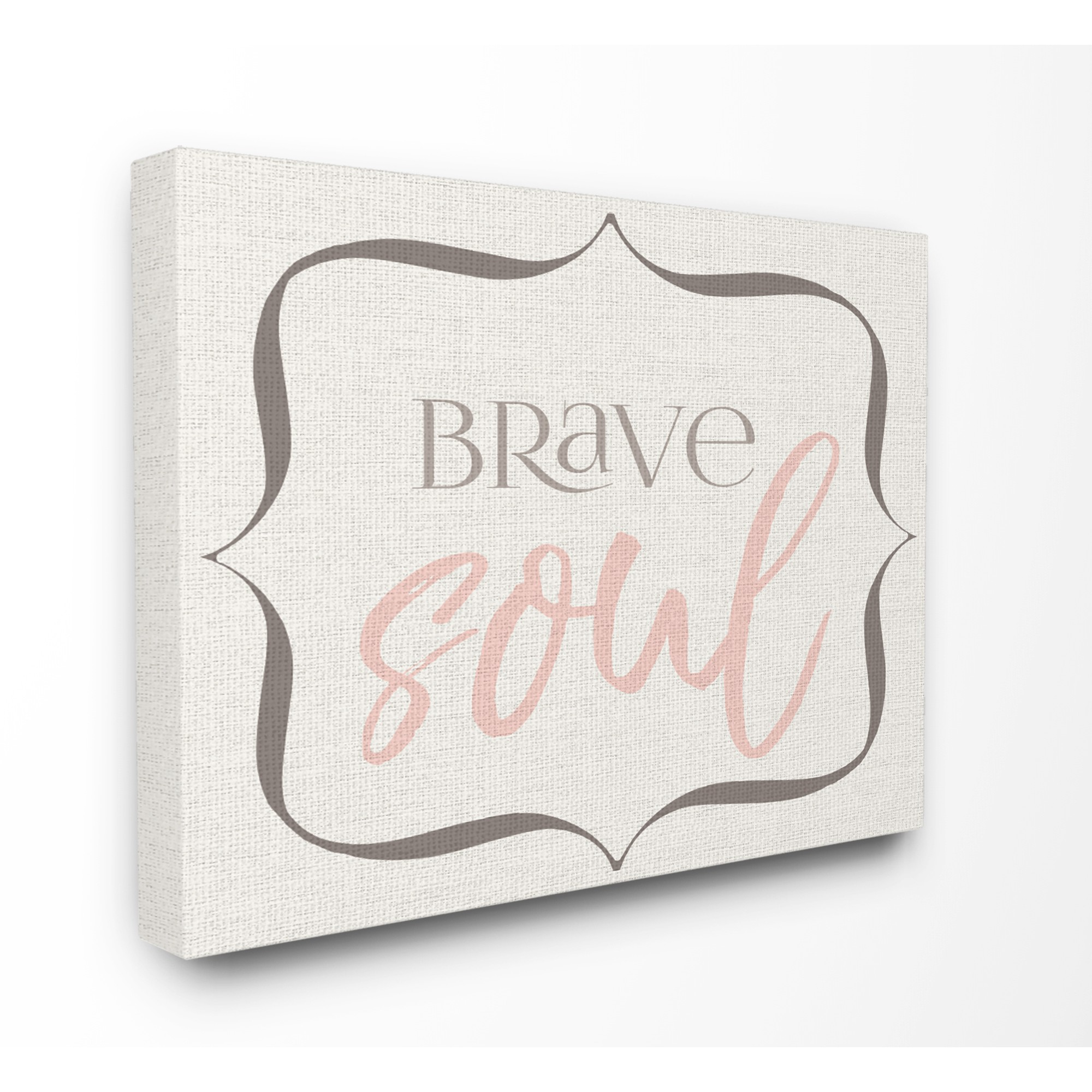 The Kids Room by Stupell Elegant Brave Soul Oversized Stretched Canvas Wall Art, 24 x 1.5 x 30