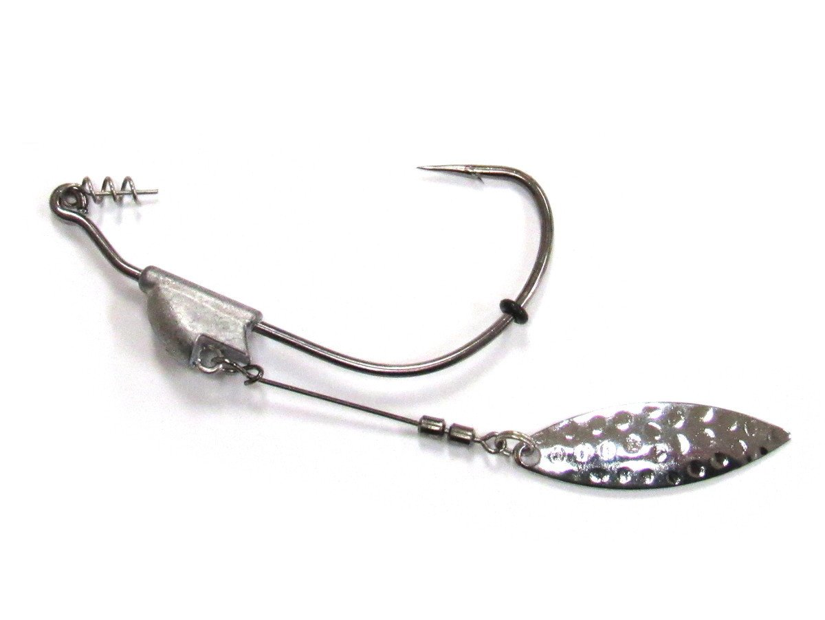 20 3//16 3//0 hook Weighted Swimbait Hooks Fishing lure