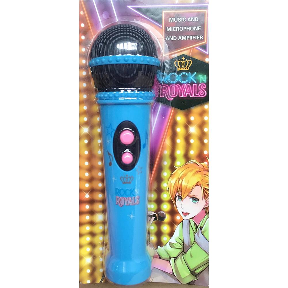 Kids Microphone Music Player Built In Speaker, Children Karaoke Toys Color:Pink
