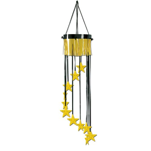 Star Shimmering Spiral (black & gold) Party Accessory  (1 count) (1/Pkg)
