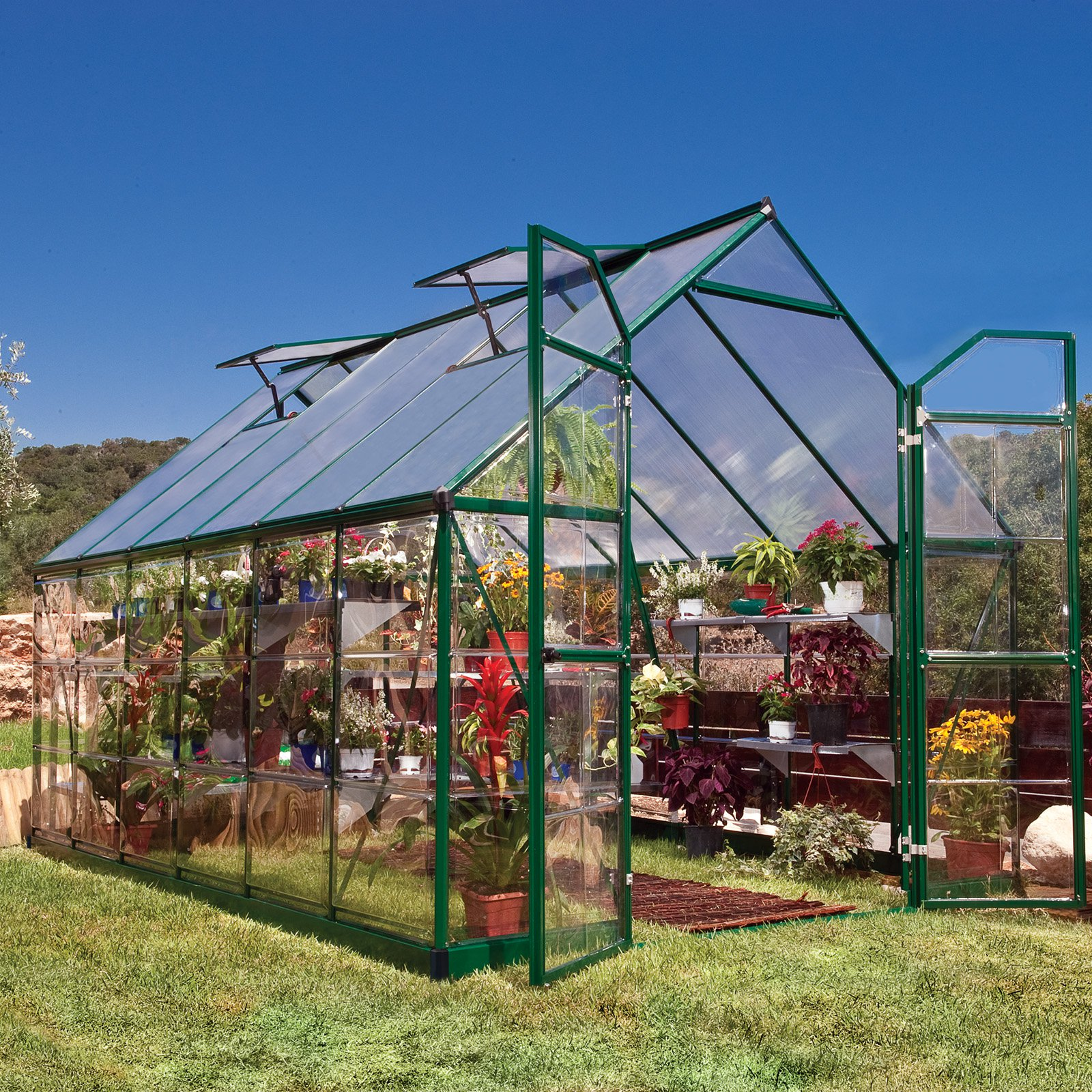 Green Balance 8' x 12' Greenhouse by Palram