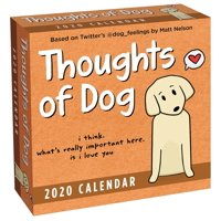 Thoughts of Dog 2020 Day-To-Day Calendar (Other)