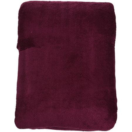 Mainstays Plush Blanket, Queen