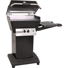 Broilmaster Propane Grill & Base Package with Electronic Ignition - Black Broilmaster H3PK1 Gas Grill