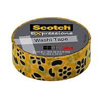 3m C314P50 .59 X 393 Gold Flowers Expressions Washi Tape