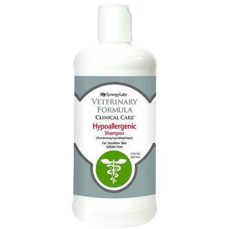 Veterinary Formula Clinical Care Hypoallergenic Shampoo, 16 Oz